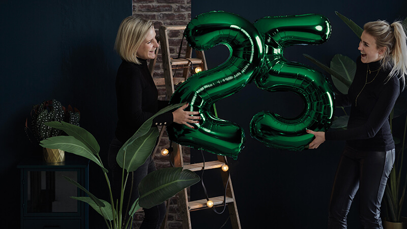 We are celebrating 25 years of Emerald